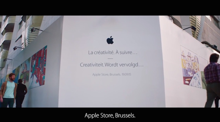 Bruessel Apple Store