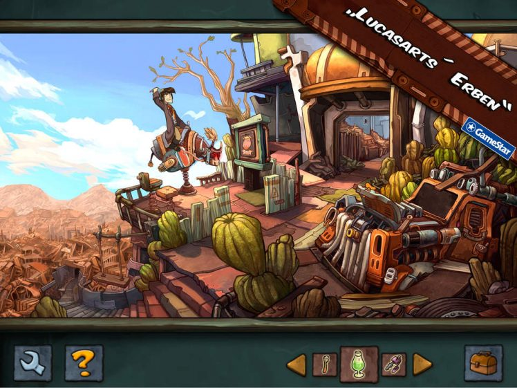 Deponia iPad Screen