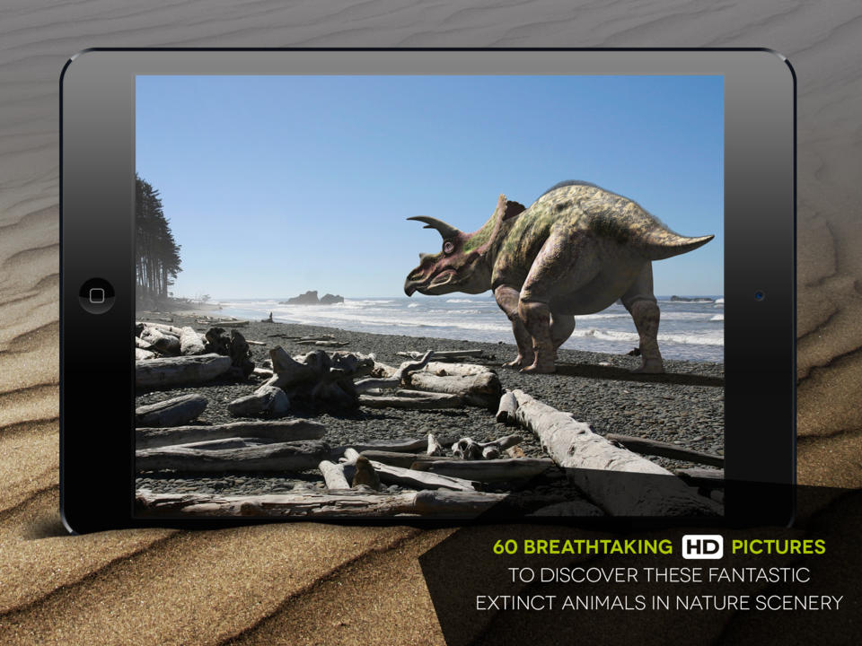 Fantastic Dinosaurs HD Screen