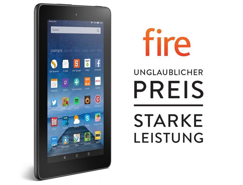 Fire Tablet Bild