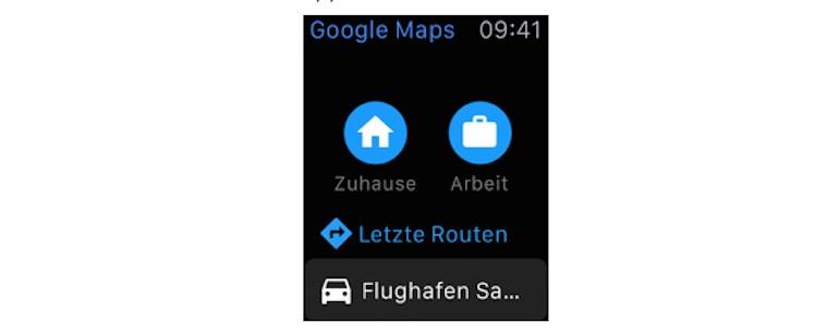 Google Maps Watch