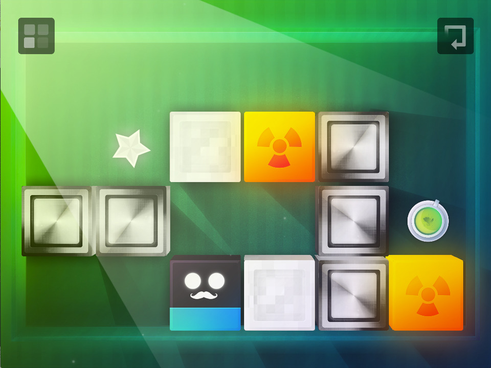 Gravity Blocks Screen