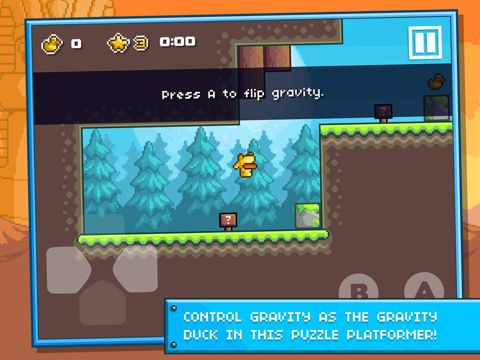 Gravity Duck Islands Screen