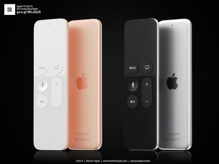 Hajek Apple TV 4 Remote Ansicht