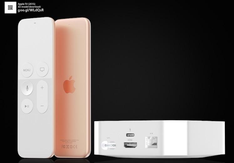 Hajek Apple TV 4 rose-gold silber