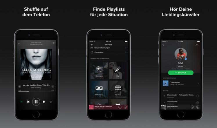 Spotify Screen