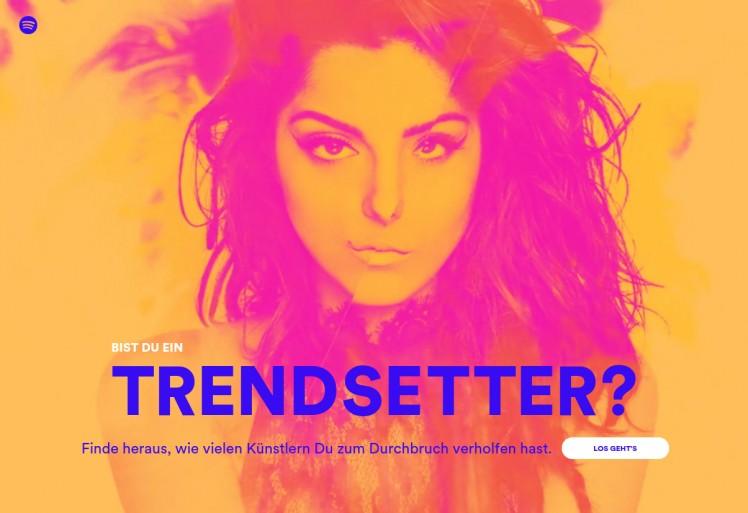 Spotify Trendsetter Bild