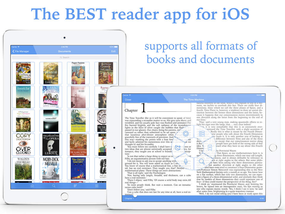 Total Reader Pro Screen