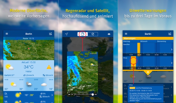 WeatherPro gratis version