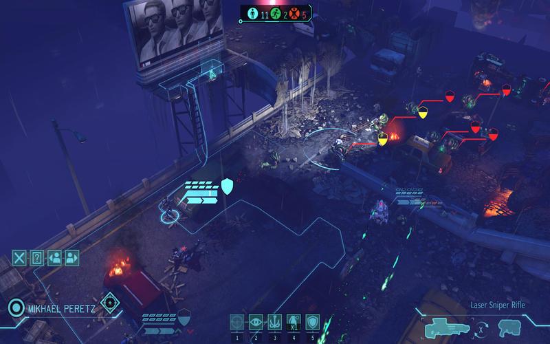 XCOM Enemy unknown Screen