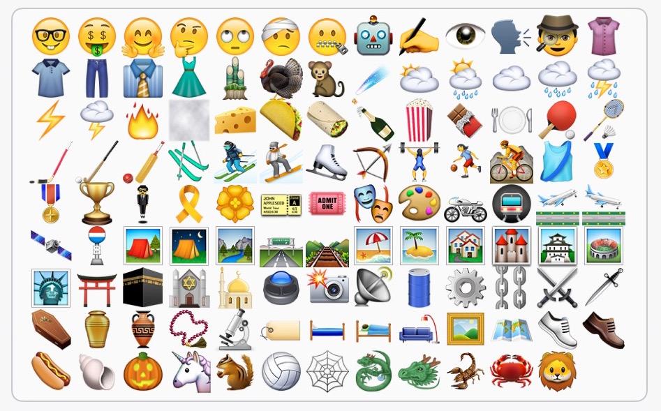 iOS 9_1 neue Emojis Bild