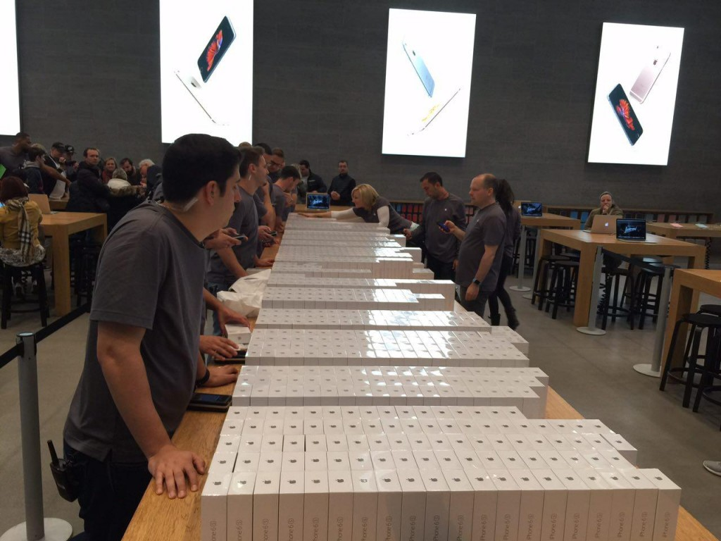 iPhone 6S Launch Foto 8