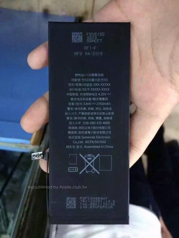 iPhone 6S Plus Akku