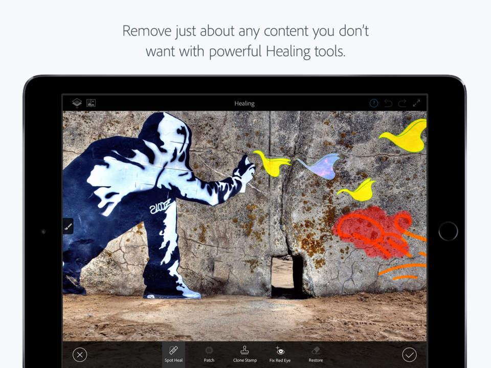Adobe Photoshop Fix Screen