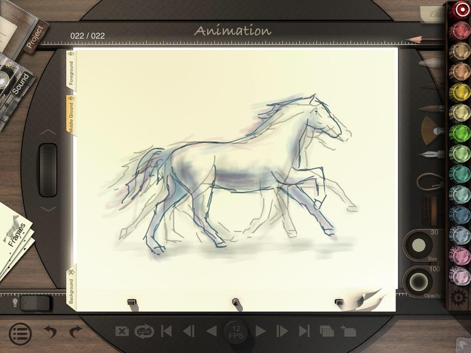 Animation Desk Premium Screen