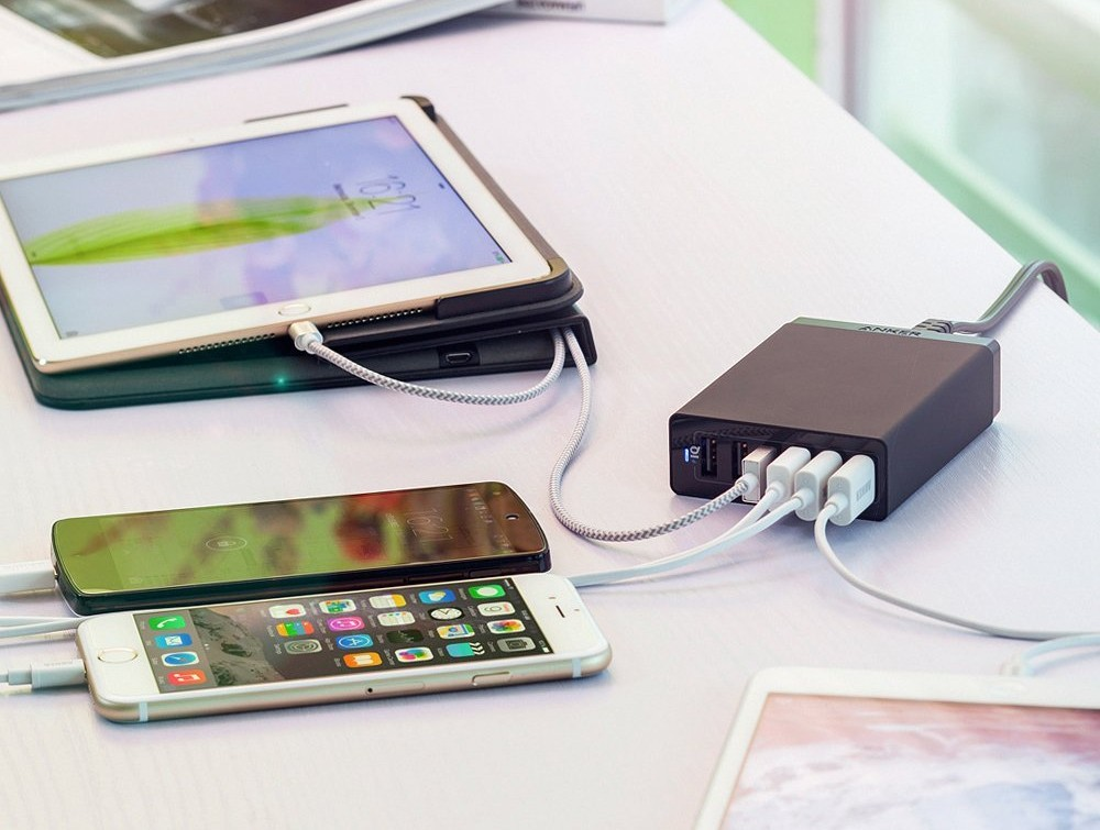 Anker 6 Port USB Ladegeraet
