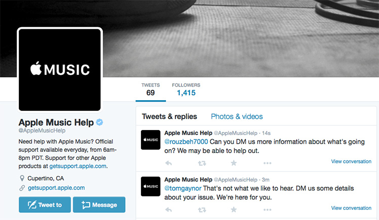 Apple Music / Twitter