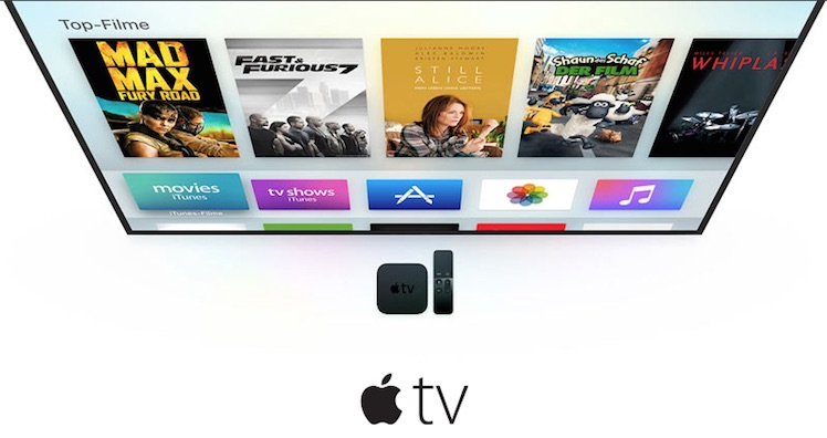 Apple TV 4 Ansicht
