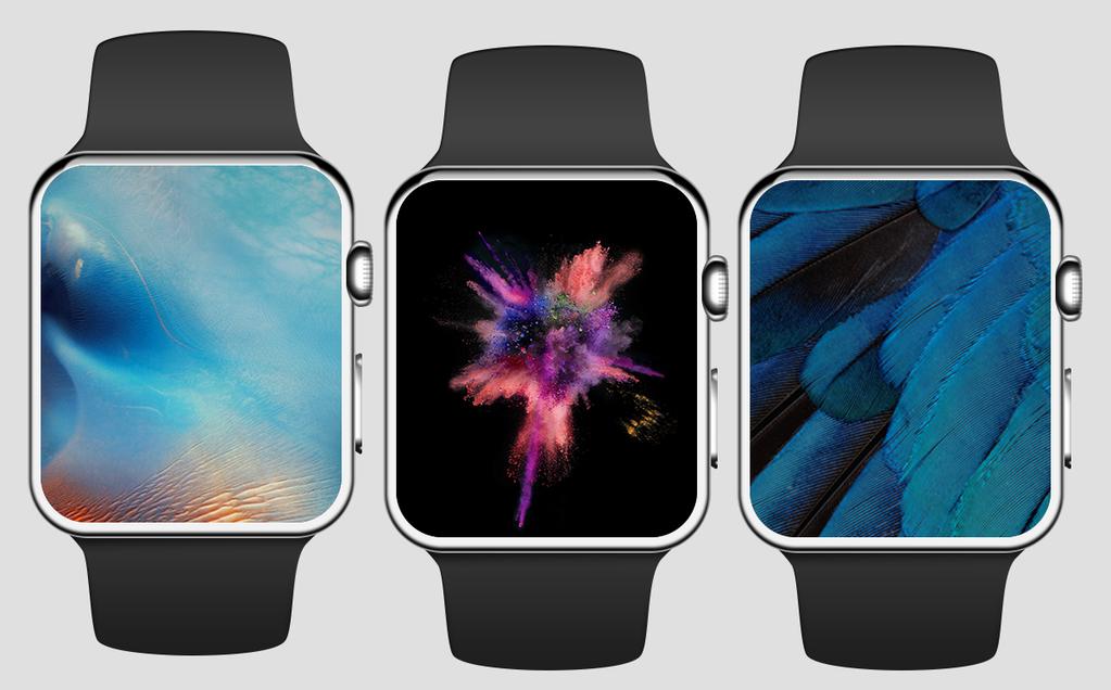 Apple Watch Hintergrundbilder idb