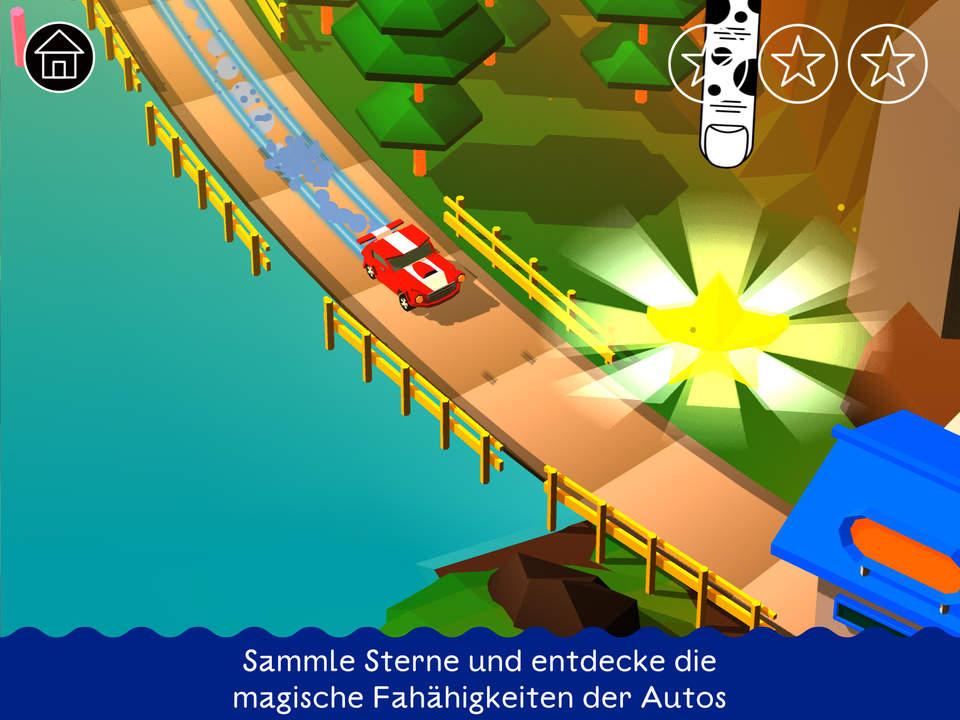 Auto Abenteuer Screen