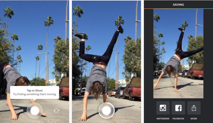 Boomerang Instagram Ansicht