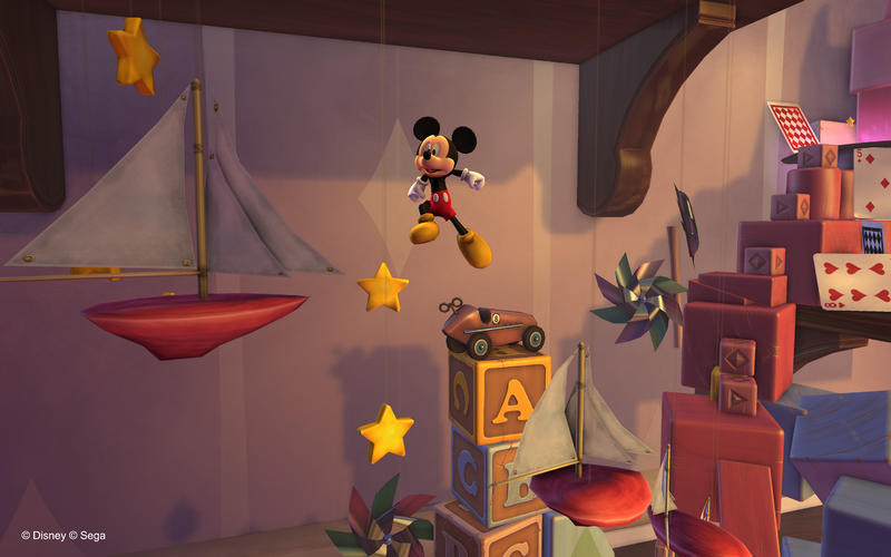Castle of Illusion Starring Mickey Mouse Screen