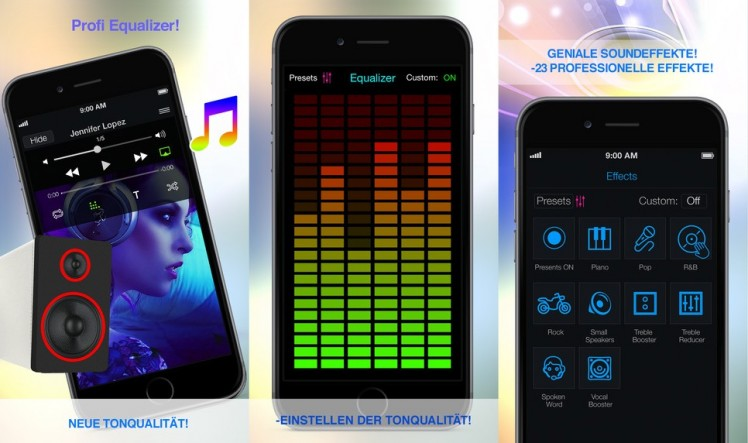 Equalizer Pro Screen