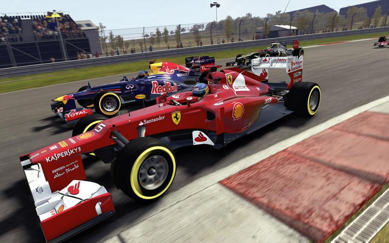 F1 2012 Screen