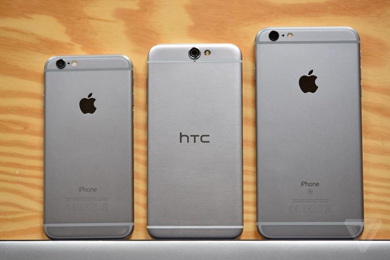 HTC A9 iPhone 6