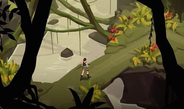 Lara Croft Go Ansicht