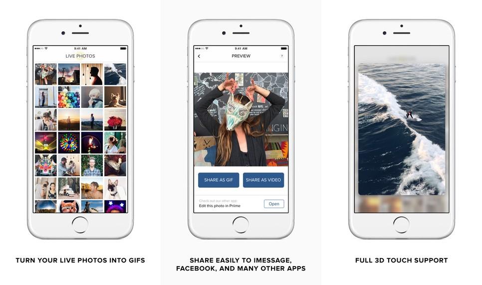 Live GIF Screen