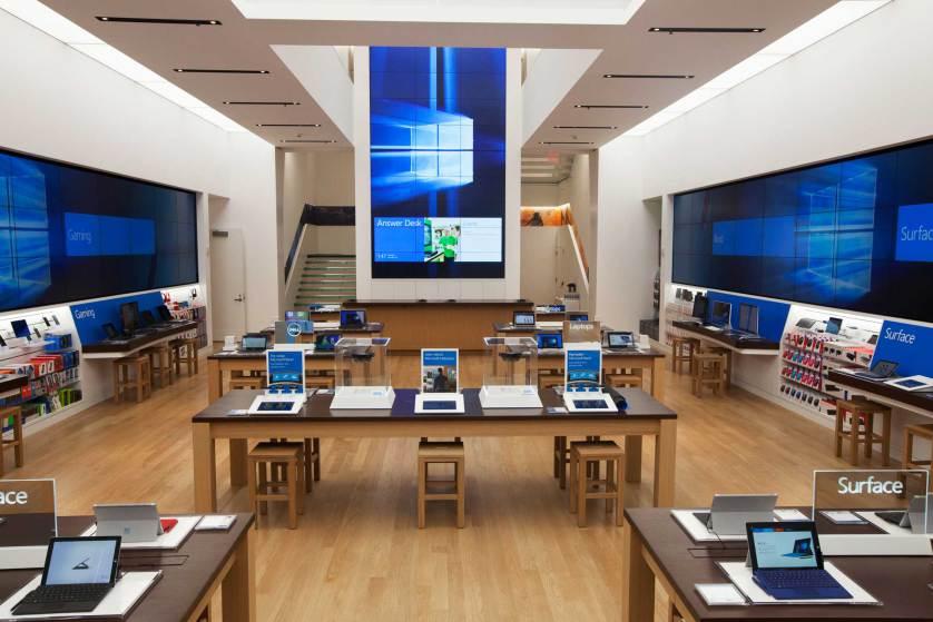 Microsoft Store Bild