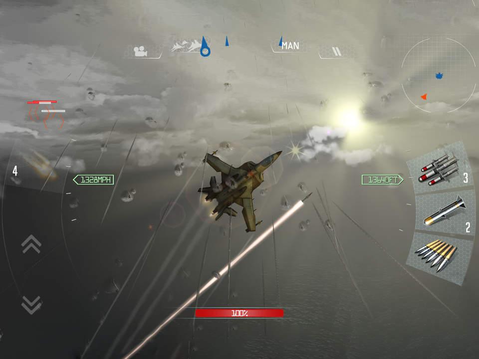 Sky Gamblers Air Supremacy Screen