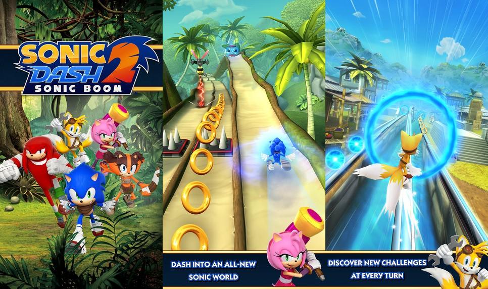 Sonic Dash 2 Screen