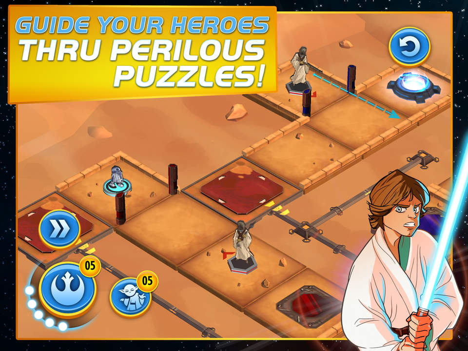 Star Wars Heroes Path Screen