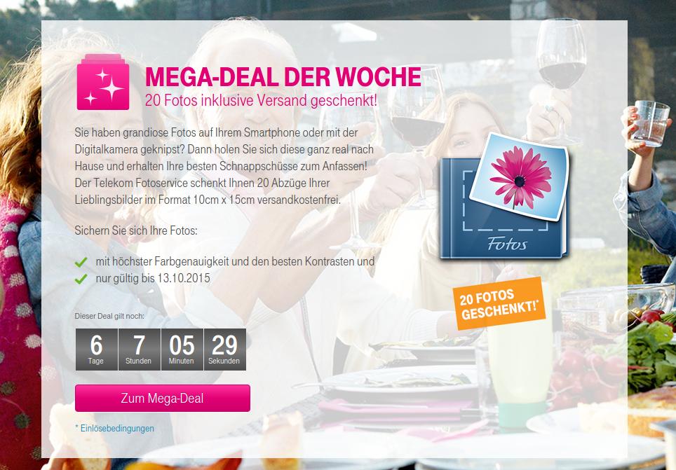 Telekom Meda-Deal Fotos