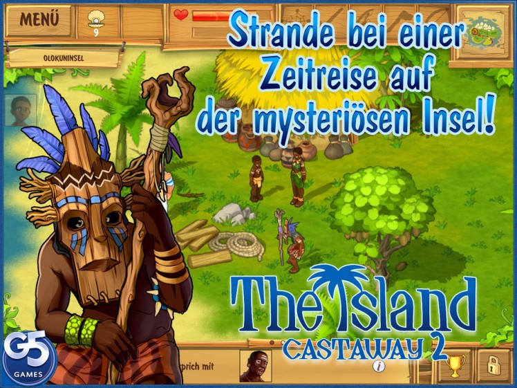 The Island Castaway Screen