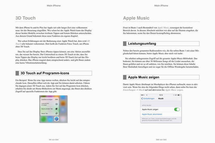 iOS 9 ebook Bild