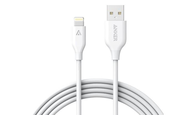 Anker Lightning-Kabel weiss