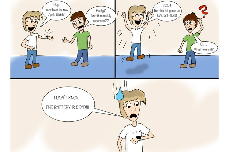 Apple-Comic