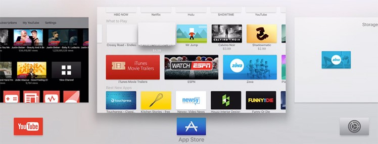 App Switcher Apple TV