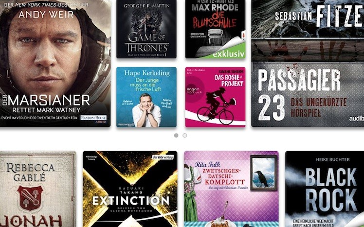 Audible Store