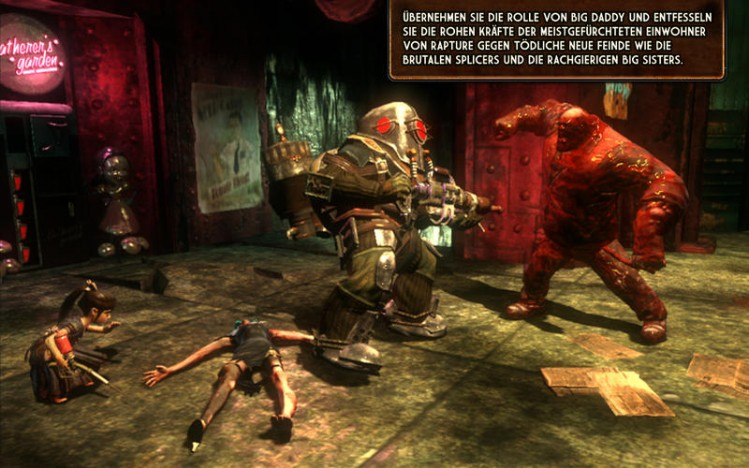 Bioshock 2 Screen