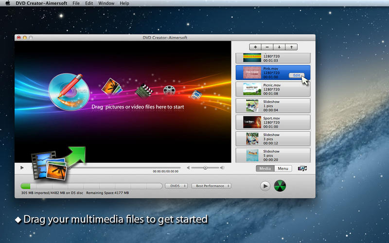 DVD Creator-Aimersoft Screen