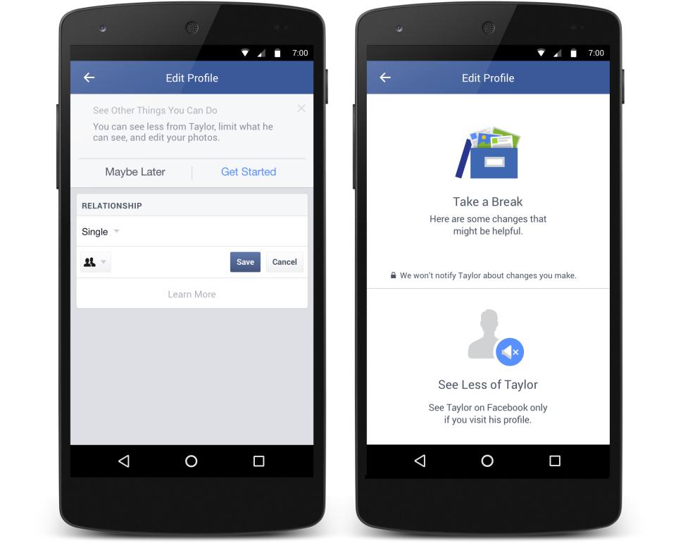 Facebook Trennungen