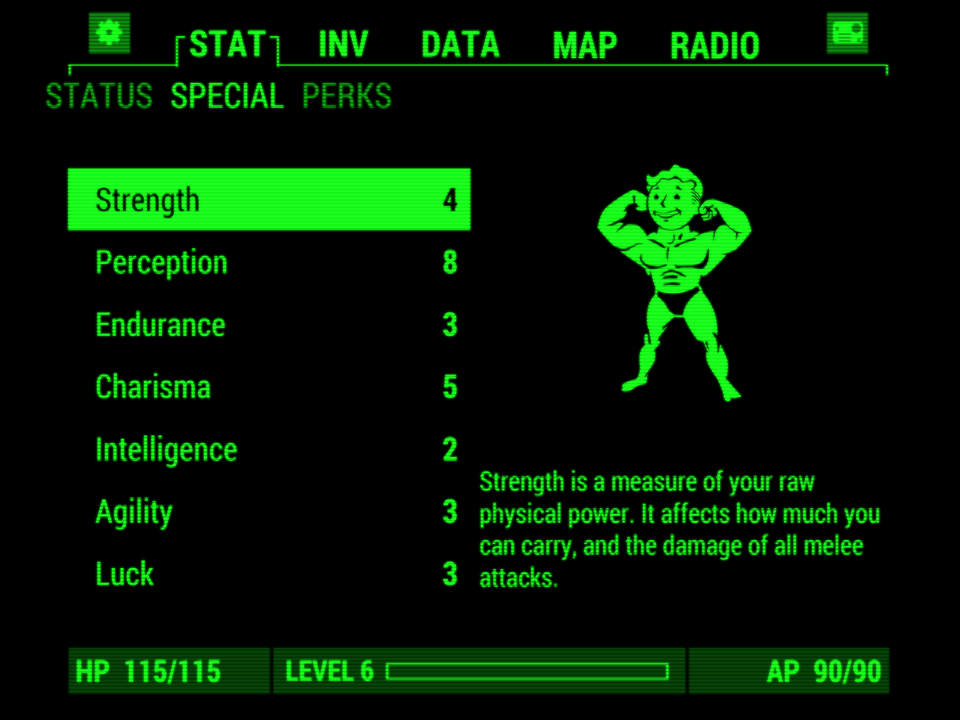 Fallout Pip-Boy Screen