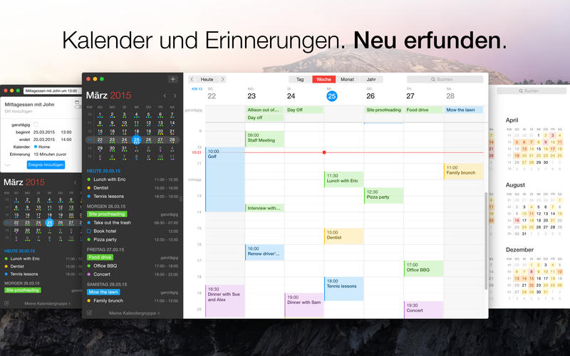 Fantastical 2 Screen