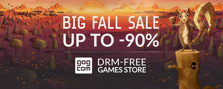 Gog Fall Sale Bild
