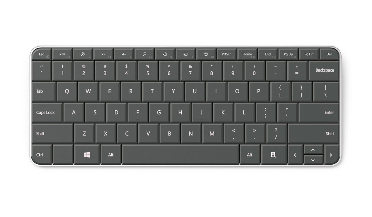 Microsoft Wedge Bluetooth Tastatur