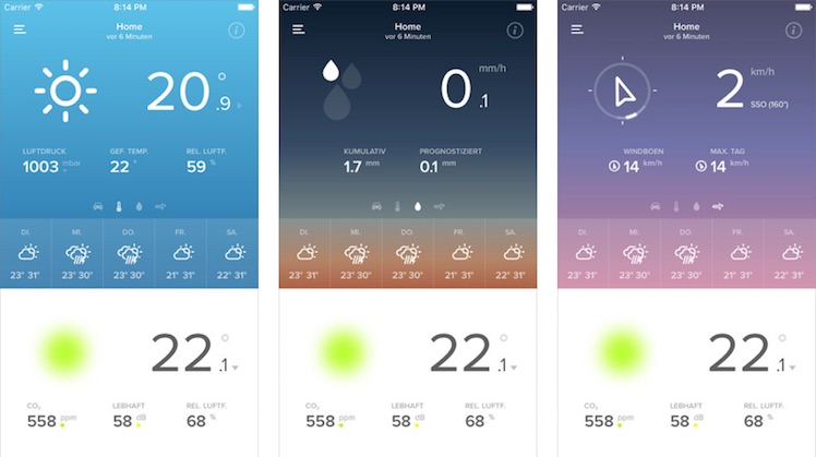 Netatmo App 2015